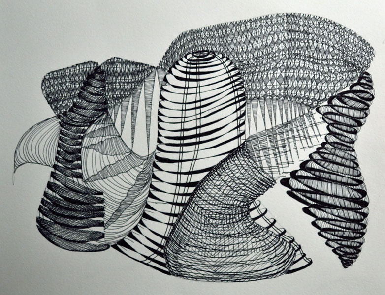 Line Drawing Abstract : Line drawings beka bielman