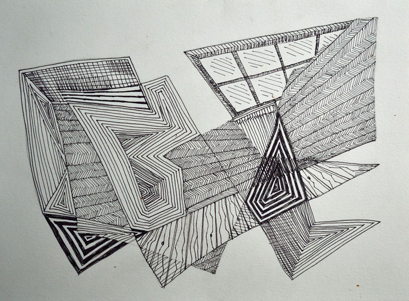 Line Drawing Abstract : Abstract line drawings beka bielman