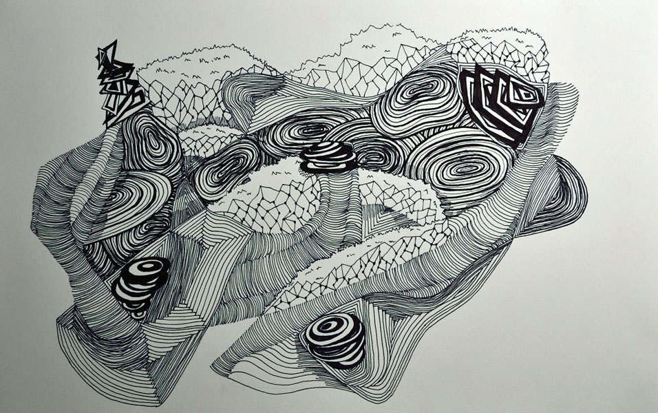 Line Drawing Photo : Abstract line drawings beka bielman