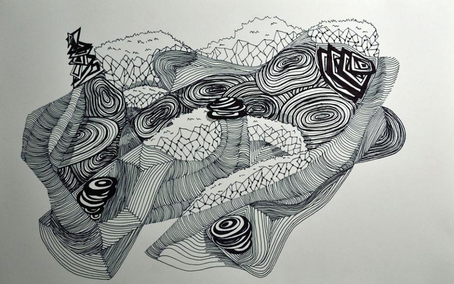 Abstract Line Drawing Artists : Line drawings beka bielman